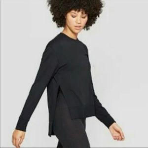 Joylab side slit sweatshirt, size small